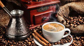 Как вкусно приготовить кофе в турке