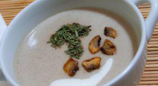 Можно ли 2-летнему ребенку грибной суп
