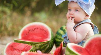 Можно ли 8 месячному ребенку арбуз