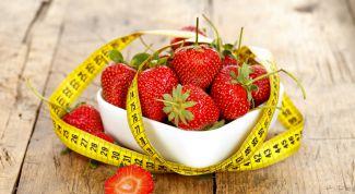 Как похудеть при помощи клубники