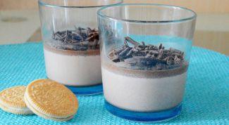 Шоколадная панна котта: пошаговый рецепт с фото
