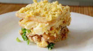 Закуска с горбушей и крекерами: пошаговый рецепт с фото