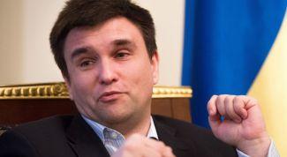 Министр иностранных дел Украины Павел Климкин: биография