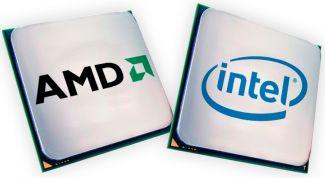 Сравнение процессора AMD и Intel