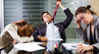 Как не впасть в депрессию на работе