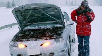 Как завести двигатель в сильный мороз