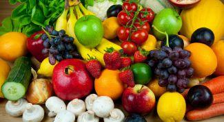 Как цвет овощей и фруктов влияет на здоровье