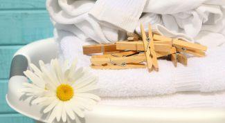 Как отбелить белье и белую одежду в домашних условиях