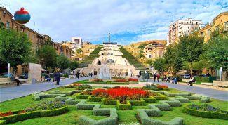 Большой каскад в Ереване: описание, история, экскурсии, точный адрес