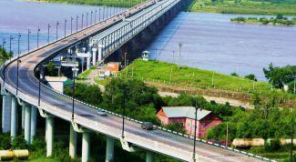 Амурский мост в Хабаровске: описание, история, экскурсии, точный адрес