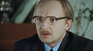 Андрей Мягков: биография, фильмография и личная жизнь