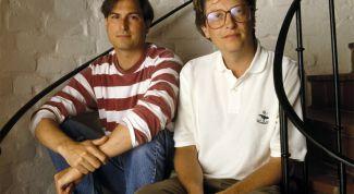 Стив Джобс и Билл Гейтс: друзья, соперники или враги?