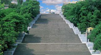 Потемкинская лестница: описание, история, экскурсии, точный адрес