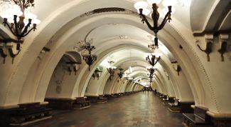 Московское метро: описание, история, экскурсии, точный адрес