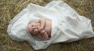 Как выбрать крестильное белье для младенца