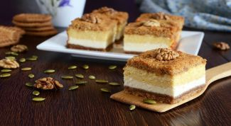 Как приготовить творожное пирожное