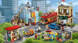 Как сделать лего-город из конструктора
