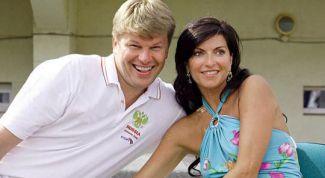 Жена Дмитрия Губерниева: фото