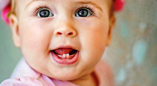 Как режутся зубы у детей