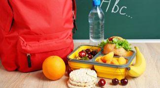 Несколько идей здоровых перекусов для школьников