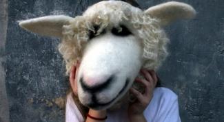 Картинка по теме - как сделать маску овечки