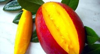 Картинка по теме - как чистить манго