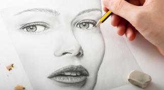 Картинка по теме - как нарисовать лицо поэтапно