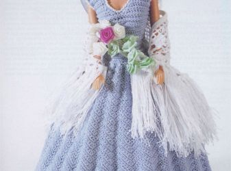 How to knit clothes for Barbie