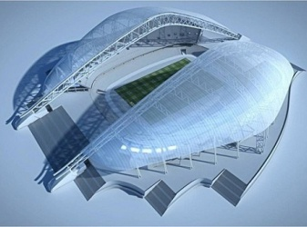 Как строили стадион «Фишт»