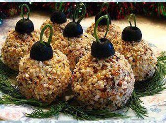 сделать красивые закуски для новогоднего стола