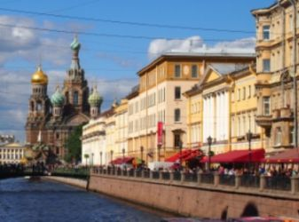 Where tasty and inexpensive meal in St. Petersburg