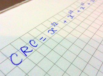 Как просто посчитать контрольную сумму CRC (CRC32 - CRC16 - CRC8)