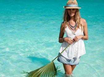 оставаться модной и стильной на пляжном отдыхе