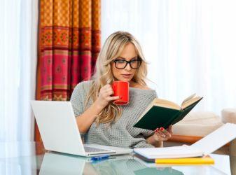организовать себя и настроить на работу в интернете