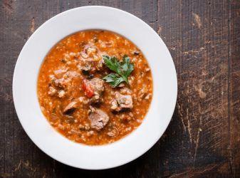 Как приготовить суп харчо из баранины с рисом