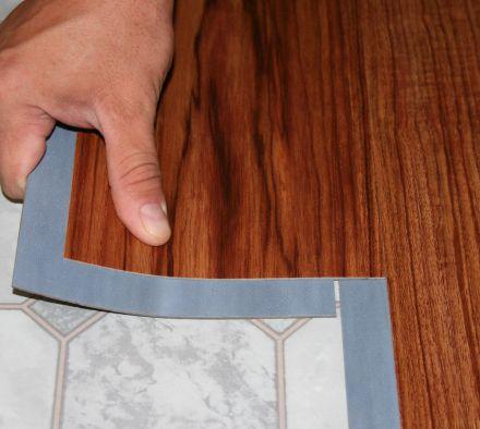 Как уложить виниловую плитку своими руками
