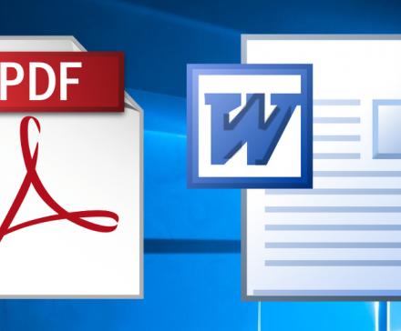 Как конвертировать PDF-файлы в документы Word