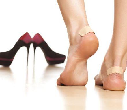 избежать появления мозолей от новой обуви