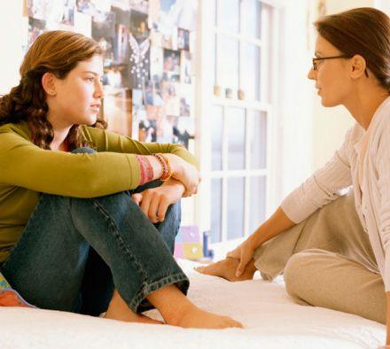 Как общаться с подрастающим отпрыском