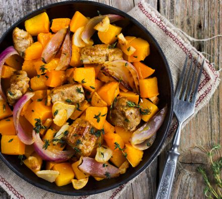 Как приготовить мясо в тыквенном соусе