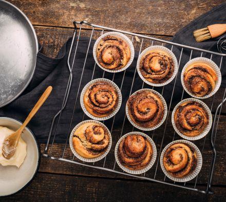 Булочки синабон: пошаговый рецепт с фото для легкого приготовления