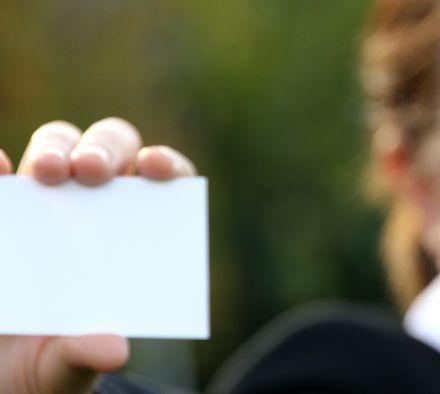 Какие бывают разновидности визиток