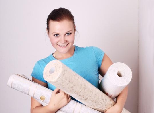 Как правильно клеить плитку на потолок и откуда надо начинать - 7dfa