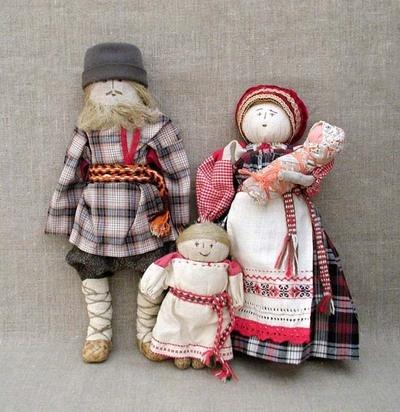 Как делать тряпичные куклы