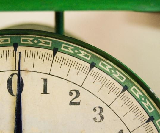 Как отмерить 100 граммов