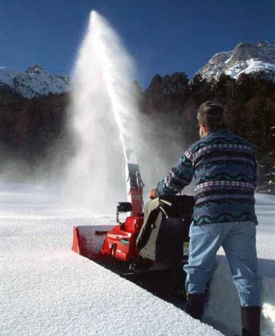 Как сделать самому снегоуборочную машину