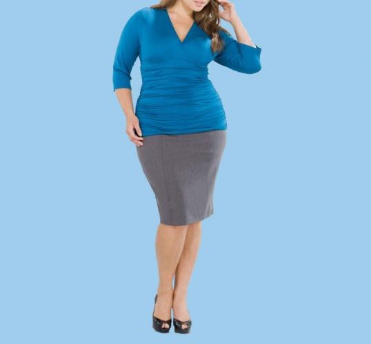 Как подобрать одежду для полных женщин
