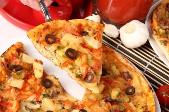 Как приготовить дома пиццу
