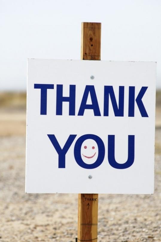 Как поблагодарить оригинально