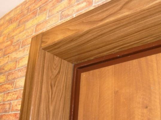 Как заделать откосы на дверях